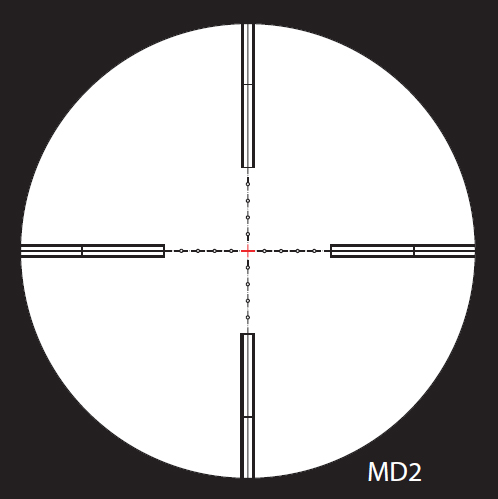 Nightforce MD2 Reticle