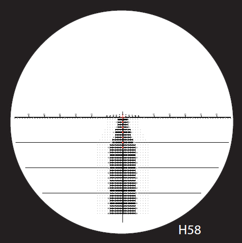 Nightforce Horus H58 Reticle
