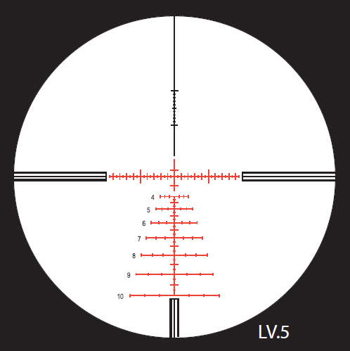 Nightforce LV.5 Reticle